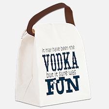 Vodka fun Canvas Lunch Bag