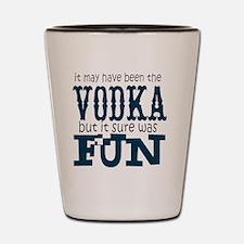 Vodka fun Shot Glass