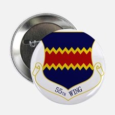 """55th Wing 2.25"""" Button"""