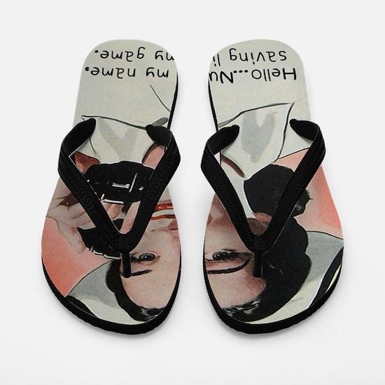 Nurse is my Name Flip Flops