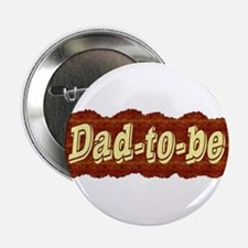 Dad-to-be (woodgrain style) Button