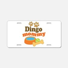 Dingo Mom Aluminum License Plate