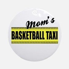 Mom's Basketball Taxi Rear View Mirror Charm
