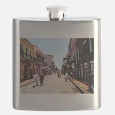 New Orleans Bourbon Flask