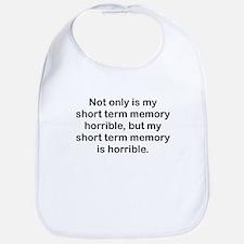 Short Term Memory Bib