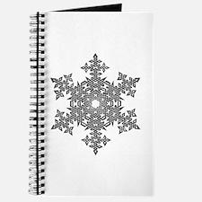 Gray Snowflake Journal