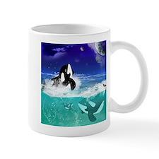 Fantastic orcas Mugs