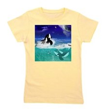 Fantastic orcas Girl's Tee