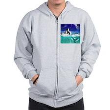 Fantastic orcas Zip Hoodie