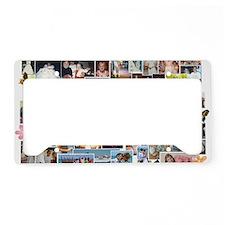 taras 40th collage License Plate Holder