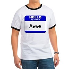 hello my name is anne T