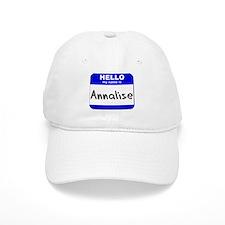 hello my name is annalise Baseball Cap