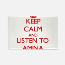 Keep Calm and listen to Amina Magnets