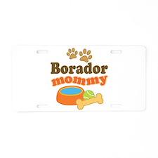 Borador Mom Aluminum License Plate