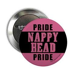 Nappy Head Pride Button