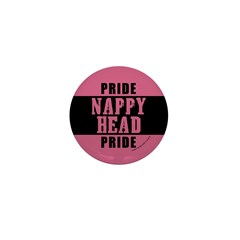 Nappy Head Pride Mini Button (10 pack)