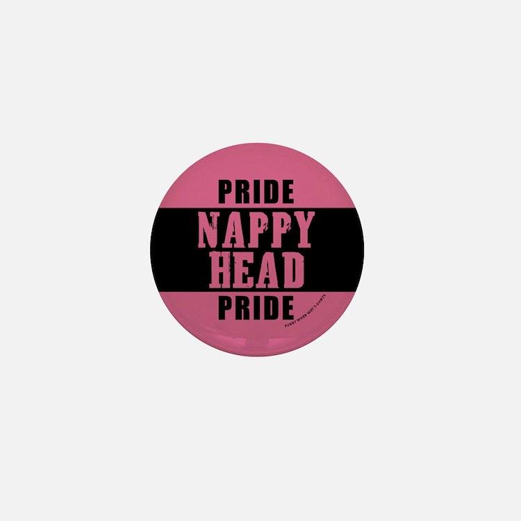 Nappy Head Pride Mini Button