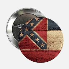 "Wooden Mississippi Flag3 2.25"" Button (10 pack)"