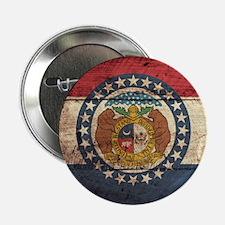 "Wooden Missouri Flag3 2.25"" Button (10 pack)"