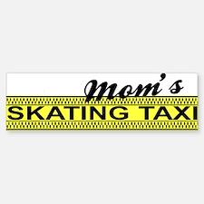 Mom's Skating Taxi Bumper Bumper Bumper Sticker