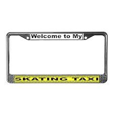 Mom's Skating Taxi License Plate Frame