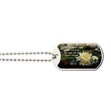 American Indian proverb Dog Tags