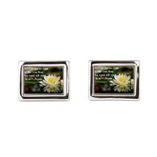 American Indian proverb Cufflinks