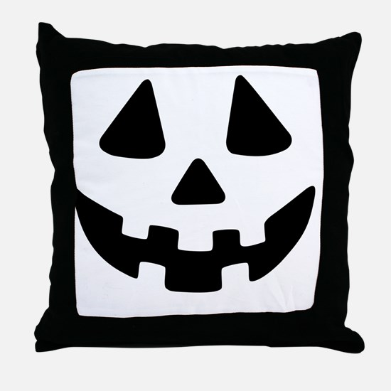 Jack OLantern Throw Pillow