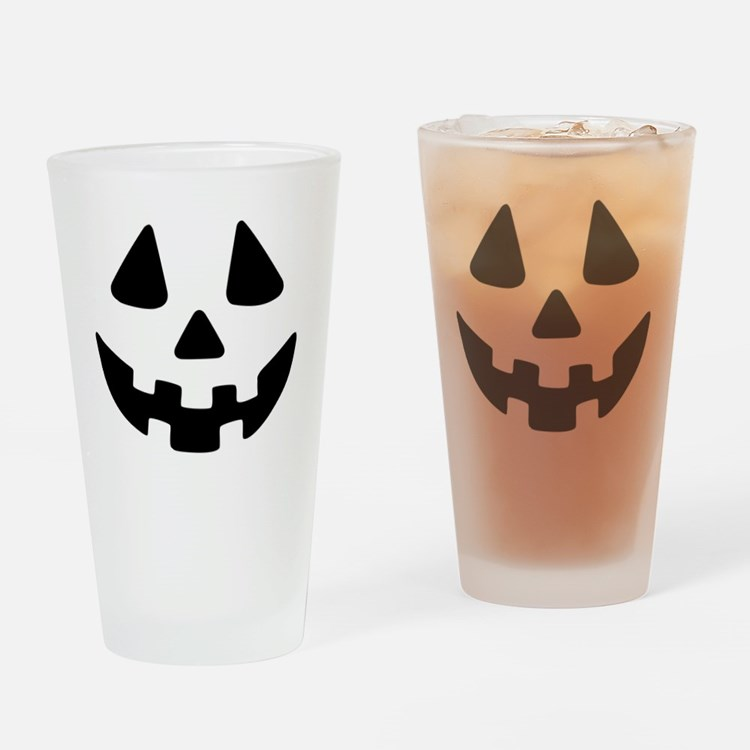 Jack OLantern Drinking Glass
