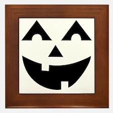 Laughing Jack O'Lantern Framed Tile
