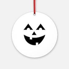 Laughing Jack O'Lantern Round Ornament