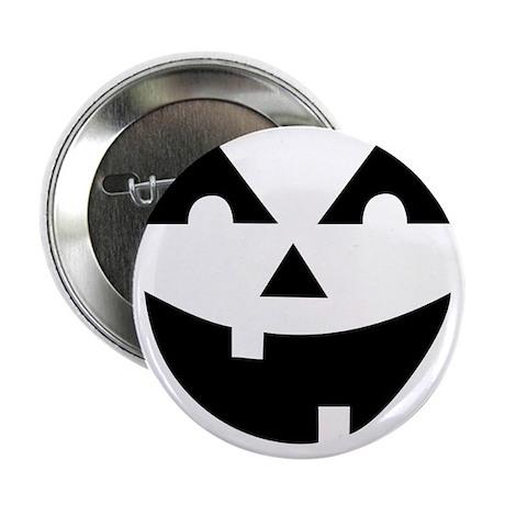 """Laughing Jack O'Lantern 2.25"""" Button"""