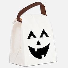 Laughing Jack O'Lantern Canvas Lunch Bag