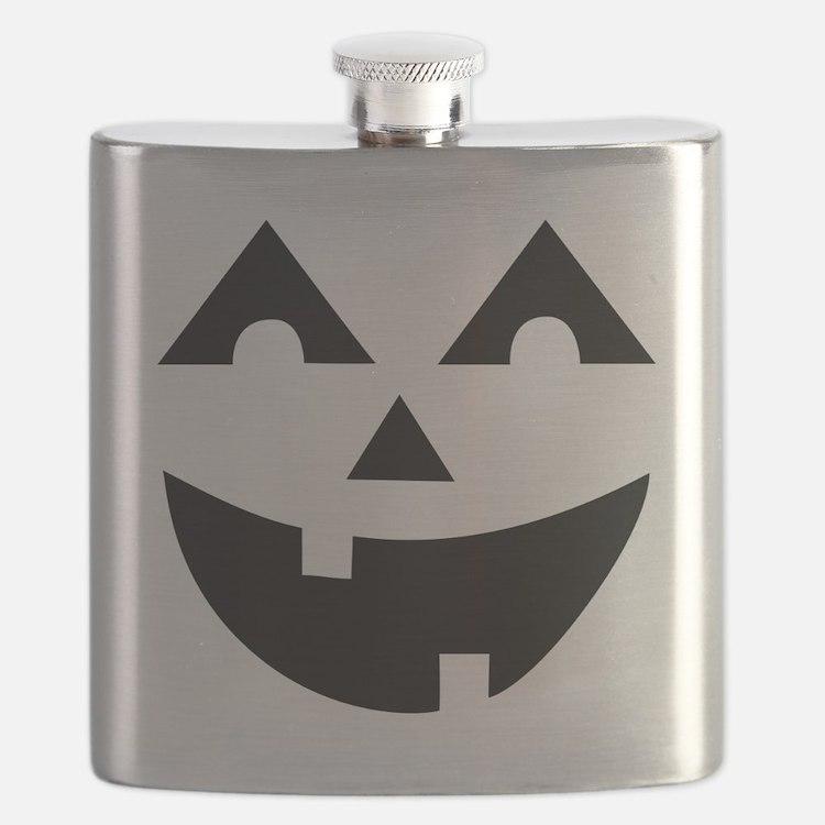 Laughing Jack O'Lantern Flask