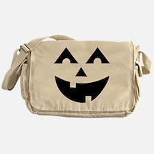 Laughing Jack O'Lantern Messenger Bag