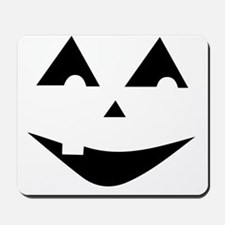 One Tooth Jack O'Lantern Mousepad