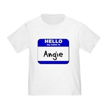hello my name is angie T