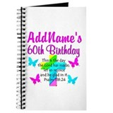 60th birthday religious Journals & Spiral Notebooks