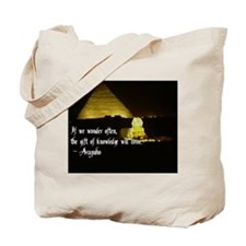 Arapaho Proverb Tote Bag