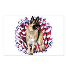 GSD Patriot Postcards (Package of 8)