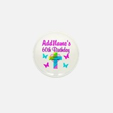 REJOICING 60TH Mini Button (10 pack)