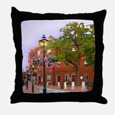 Market Square Tile 1of4 Throw Pillow