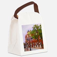 Market Square Tile 1of4 Canvas Lunch Bag