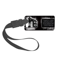 Amityville House Historical Mug Luggage Tag