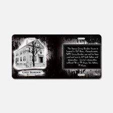 Lizzy Borden House Historic Aluminum License Plate