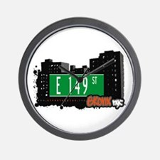 E 149 St, Bronx, NYC Wall Clock