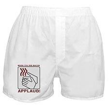 Applaud Bacon Boxer Shorts
