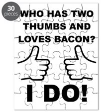 Two Thumbs Up For Bacon Puzzle