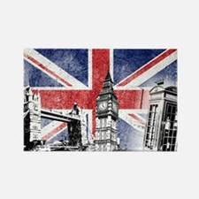 Funny London Rectangle Magnet