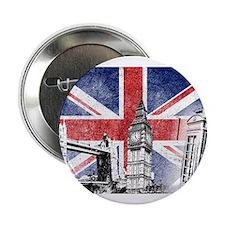 """Cute London 2.25"""" Button"""